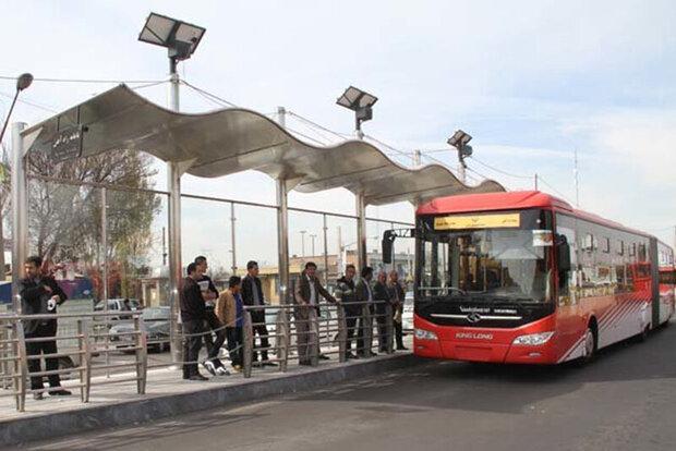 فعالیت ۱۰۰ دستگاه اتوبوس دوکابینه در تبریز
