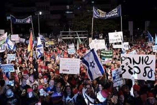 VIDEO: Massive demonstrations against Netanyahu