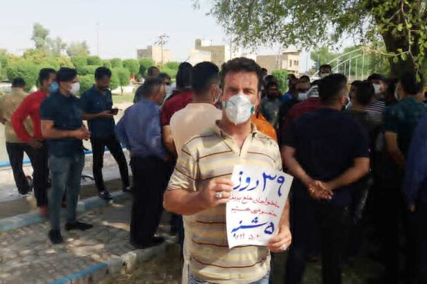 نمایندگان مجلس برای مطالبات کارگران هفت تپه وارد خوزستان شدند
