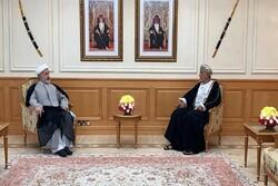Oman hails Iranian envoy's effort in bolstering mutual ties