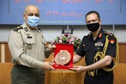 آیین دانشآموختگی دانشجویان خارجی دانشگاه فرماندهی ارتش برگزار شد