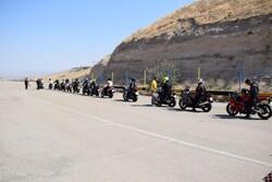 اولین دوره مسابقات موتورسواری در سال جدید برگزار شد