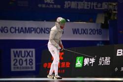 بانوی شمشیرباز ایران از کسب سهمیه المپیک بازماند