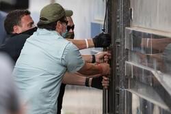امریکی فورسز کا چين کے قونصلخانہ میں غیر قانونی داخلہ