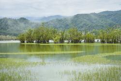 Estil Lagoon of Astara