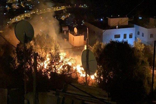 Siyonist güçlerinden Suriye topraklarına saldırı
