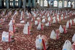 ۱۵۵۰ بسته معیشتی در پارسآباد توزیع میشود