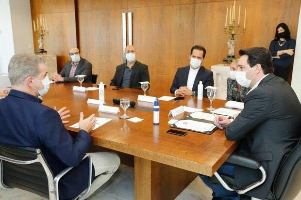 ايران والبرازيل تبحثان سبل تعزيز وتطوير العلاقات الاقتصادية بين البلدين