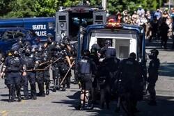 پلیس آمریکا دستکم ۴۵ تن از معترضان به نژادپرستی را بازداشت کرد