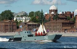 Rusya Deniz Kuvvetleri Günü'nden fotoğraflar
