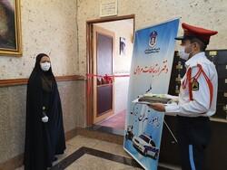 افتتاح دفتر ارتباطات مردمی پلیس راهور تهران بزرگ
