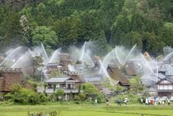 یک سیستم اطفا حریق جالب برای دهکده ۲۰۰ ساله