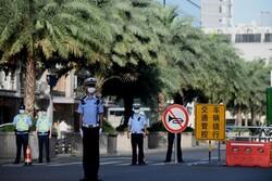 پرچم چین بر فراز کنسولگری آمریکا در «چنگدو» برافراشته شد