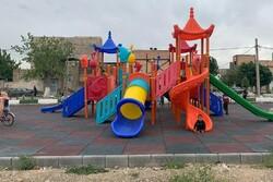خرید ۶ مجموعه تجهیزات زمین بازی برای کودکان سیلزده لرستان با همکاری یونیسف