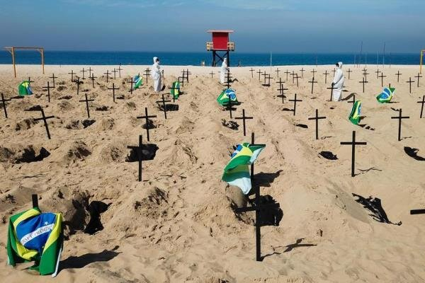 برازيل میں کورونا وائرس سے اب تک 1 لاکھ 15 ہزار سے زائد افراد ہلاک