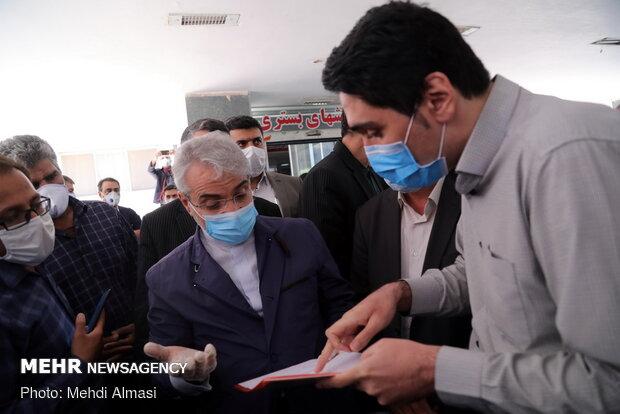سفر محمدباقر نوبخت، معاون رییسجمهور و رئیس سازمان برنامه و بودجه به زنجان