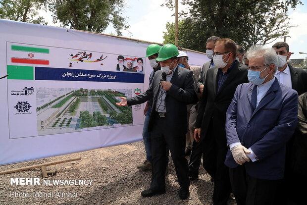 PBO chief tours Zanjan for monitoring development projects