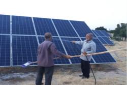 بهرهبرداری از نخستین نیروگاه خورشیدی روی کانال پساب در کشور