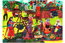 اعطای دیپلم افتخار مسابقه نقاشی اسپانیا به ۲ عضو کانون