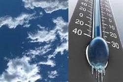 کاهش ۱۰ درجهای دمای هوا در استان قزوین