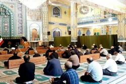 آئین عزاداری شهادت امام محمد باقر (ع) در ورامین برگزار شد