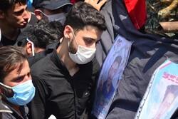 پیکر مطهر شهید «افشین آشناور» در زادگاهش آرام گرفت