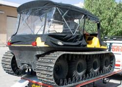 یدک کش خودروی عملیاتی آرگو در زنجان ساخته شد