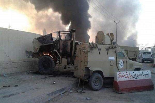Irak'taki Speicher hava üssünde şiddetli patlama