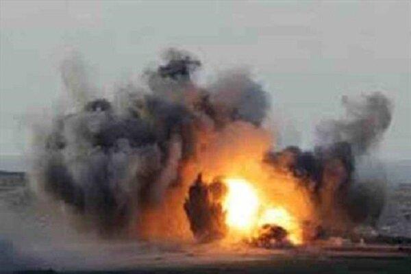 """انفجارات تهز قاعدة """"سبايكر"""" بمحافظة صلاح الدين شمالي العراق"""