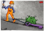 غل و زنجیرهای پای صنعت