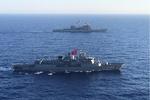 رزمایش دریایی ترکیه و آمریکا در دریای مدیترانه
