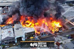 VIDEO: Massive fire burns multiple buildings in San Francisco
