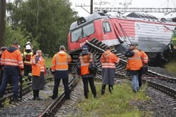 VIDEO: Two trains collide in Russia