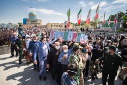 قزوین میں شہید محمد علی خانی کی تشییع جنازہ