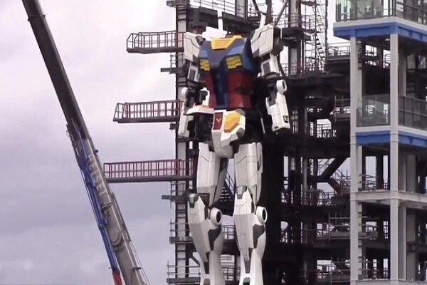 ساخت یک ربات ۱۸ متری در ژاپن