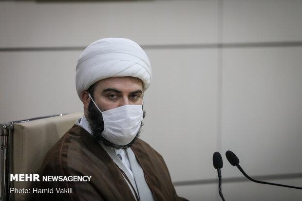 حجت الاسلام محد قمی رئیس سازمان تبلیغات اسلامی