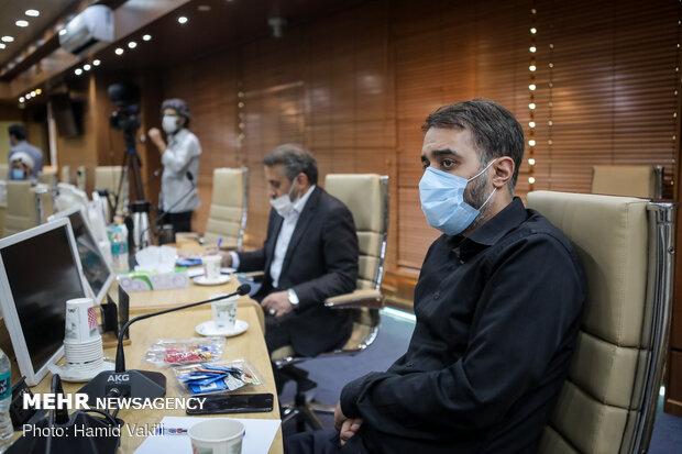 نشست مادحین و وعاظ برجسته کشور با وزیر بهداشت