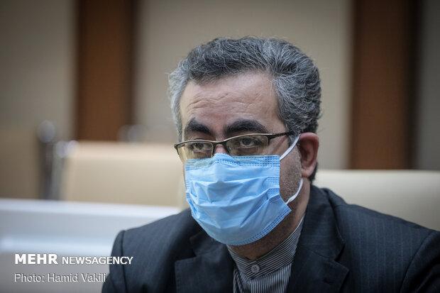 کیانوش جهانپور مدیر روابط عمومی وزارت بهداشت