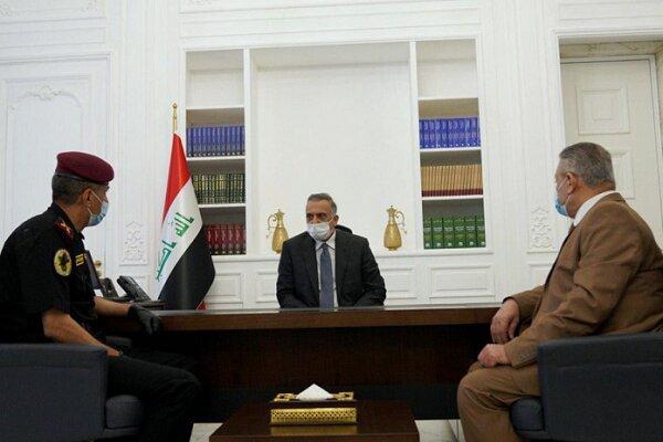 نشست نخست وزیر عراق با ۲ مقام ارشد امنیتی این کشور