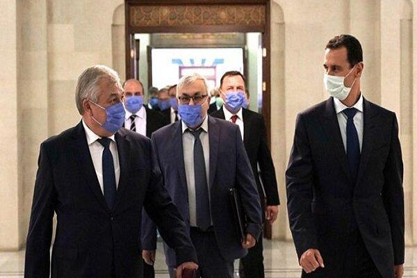 رایزنی بشار اسد با فرستاده ویژه پوتین