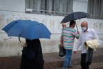 بارش باران در برخی استانهای کشور/دما کاهش پیدا می کند