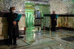 حرم شاہ عبدالعظیم میں حضرت مسلم کی شہادت کی مناسبت سے عزاداری منعقد