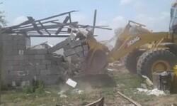 رفع تصرف بیش از ۲۵۲ هزار مترمربع از اراضی ملی در «آبش احمد»