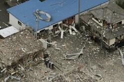 انفجار در ژاپن حداقل یک کشته برجای گذاشت