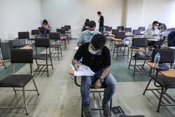 رقابت آزمون کارشناسی ارشد سال ۹۹ در ایام کرونا آغاز شد