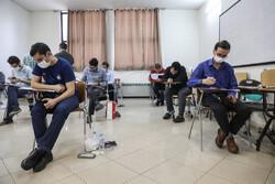 آزمون دکتری تخصصی علوم پزشکی برگزار شد/ رقابت ۱۸ هزار داوطلب با تدابیر بهداشتی