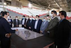 بازدید معاون رئیس جمهور از ورزشگاه ۶ هزار نفری شیراز
