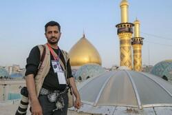 خبرنگار مهر قم برگزیده سوگواره بینالمللی عبرات شد