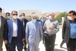 معاون رئیس جمهور از بیمارستان پیوند اعضا در صدرا بازدید کرد