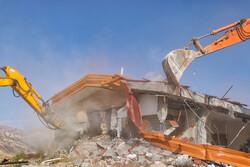 ۲۱۶ مورد از بناهای غیرمجاز در گورکات استان بوشهر قلع و قمع شد